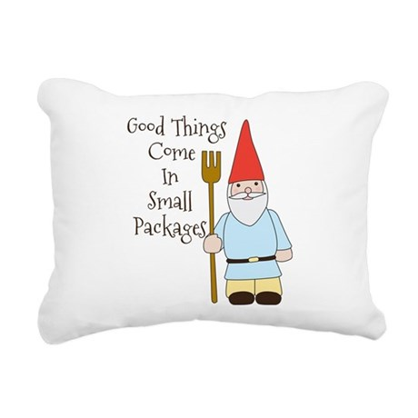 Small Packages Rectangular Canvas Pillow