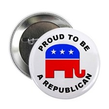 "Proud Republican 2.25"" Button (10 pack)"