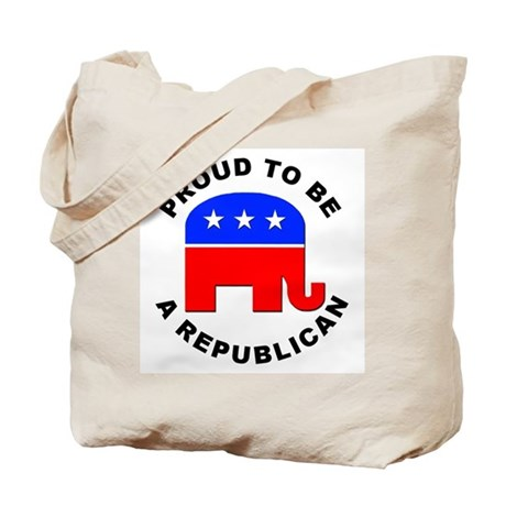 Proud Republican Tote Bag