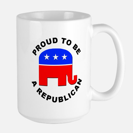 Proud Republican Large Mug