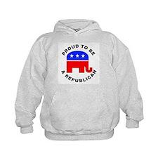 Proud Republican (Front) Hoodie