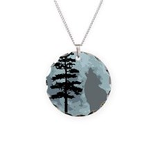 wolfmoongray.png Necklace