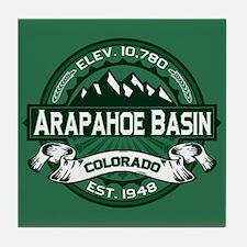 Arapahoe Basin Forest Tile Coaster