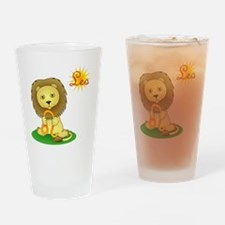 Leo the Lion Drinking Glass