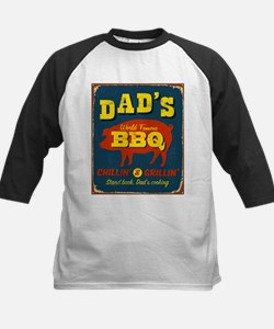 Vintage metal sign - Dad's - Kids Baseball Jersey