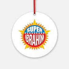 Super Ibrahim Ornament (Round)