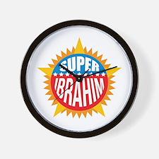 Super Ibrahim Wall Clock