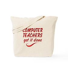 Computer Teachers Tote Bag