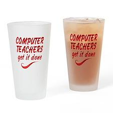 Computer Teachers Drinking Glass