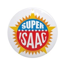 Super Isaac Ornament (Round)