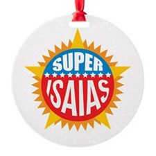 Super Isaias Ornament