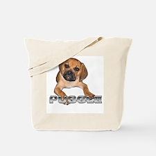 puggle bite Tote Bag