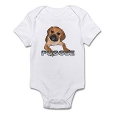 puggle bite Infant Bodysuit