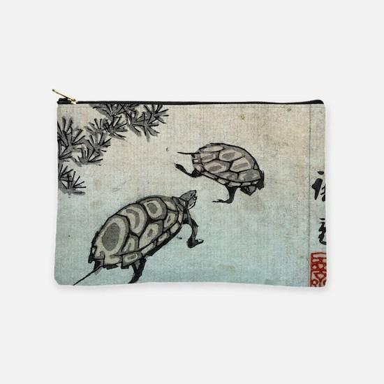 Turtles - Hiroshige Ando - c1850 - woodcut Makeup