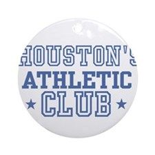 Houston Ornament (Round)