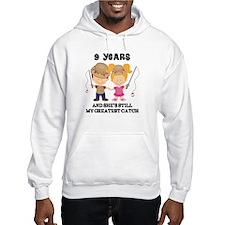 9th Anniversary Mens Fishing Jumper Hoody
