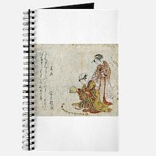 Yoshiwara Sparrow - anon - 1797 - woodcut Journal