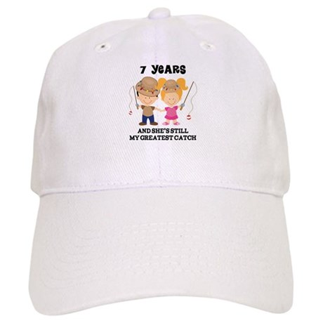7th Anniversary Mens Fishing Cap