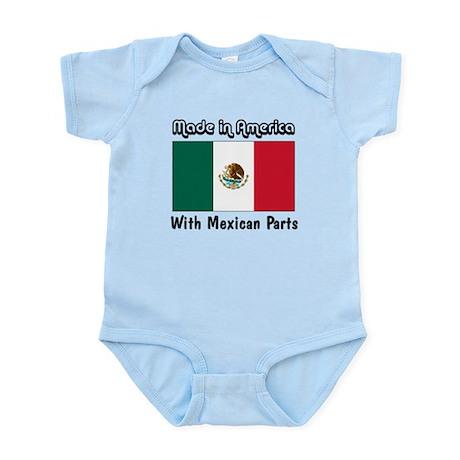 Mexican Parts Infant Bodysuit