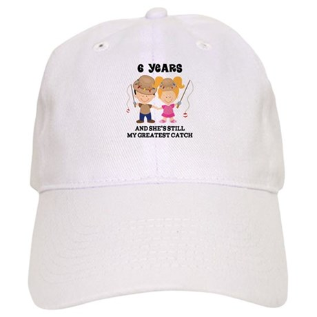 6th Anniversary Mens Fishing Cap