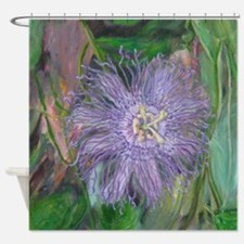 FLORIDA PASSION FLOWER VINE Shower Curtain