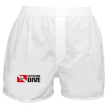 Extreme Diver (Skull) Boxer Shorts