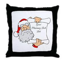 Good Pharmacy Tech List Throw Pillow