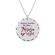 Science Teacher Ninja Necklace