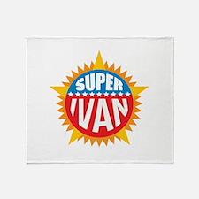 Super Ivan Throw Blanket