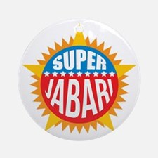 Super Jabari Ornament (Round)