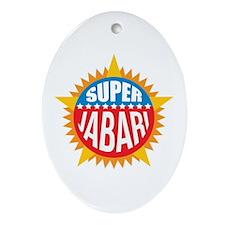 Super Jabari Ornament (Oval)