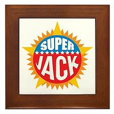 Super Jack Framed Tile