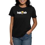 Trophy Wife Women's Black T-Shirt