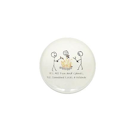 Lost Wiener Mini Button (10 pack)
