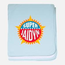 Super Jaidyn baby blanket