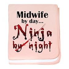 Midwife Ninja baby blanket