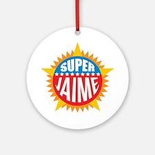 Super Jaime Ornament (Round)
