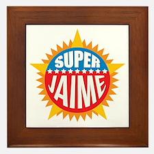 Super Jaime Framed Tile