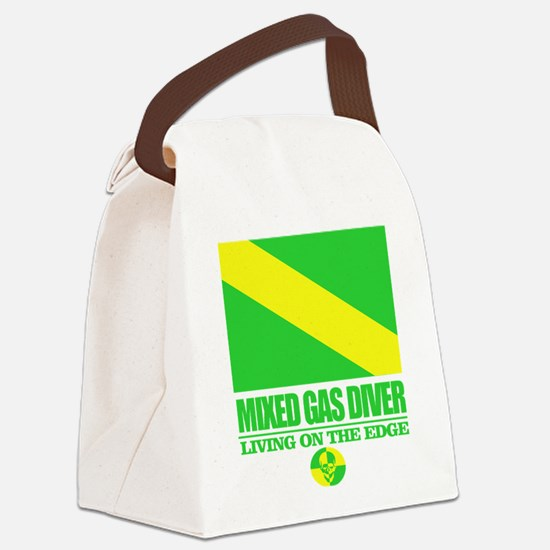 Mixed Gas Diver Canvas Lunch Bag