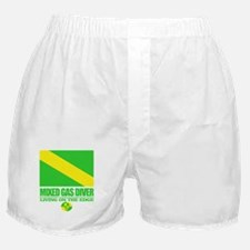 Mixed Gas Diver Boxer Shorts