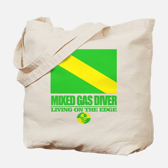 Mixed Gas Diver Tote Bag