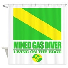 Mixed Gas Diver Shower Curtain