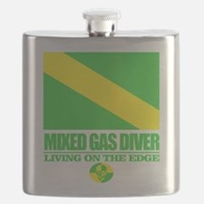 Mixed Gas Diver Flask