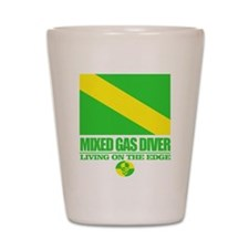 Mixed Gas Diver Shot Glass