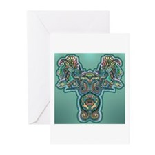 Feathered Serpent Greeting Cards (Pk of 10)