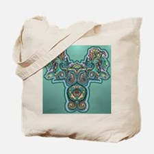 Feathered Serpent Tote Bag