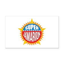 Super Jamarion Rectangle Car Magnet
