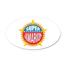 Super Jamarion Oval Car Magnet