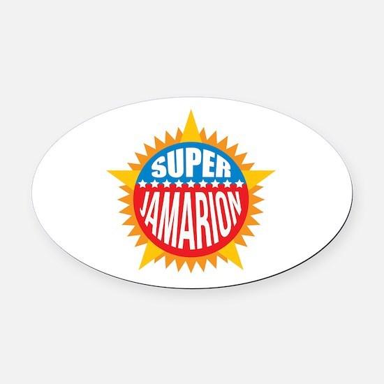 Super Jamarion Oval Car Magnet