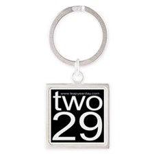 two29 Square Keychain